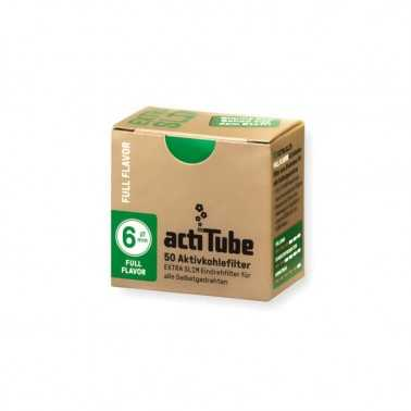 Filtres Actitube  Extra Slim 6mm 50 pièces