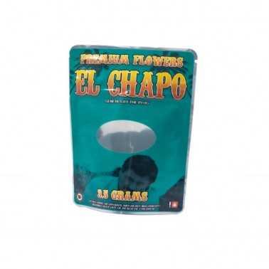 El Chapo Mylar Bags 3,5g