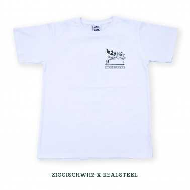 Ziggi Schwiiz x Realsteel 420 Edition T-Shirt