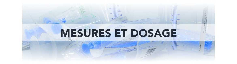 Mesures & Dosage